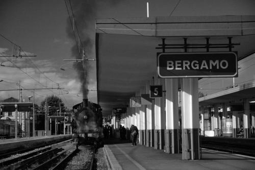 BW berg steam train