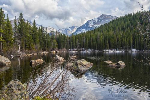 Bear Lake, Rocky Mountain National Park 18x12