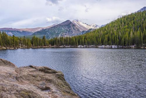 Bear Lake, Rocky Mountain National Park 18x12 2