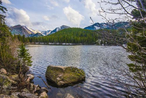 Bear Lake, Rocky Mountain National Park 18x12 3