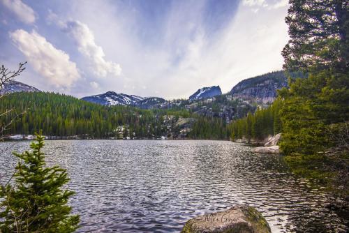 Bear Lake, Rocky Mountain National Park 18x12 6