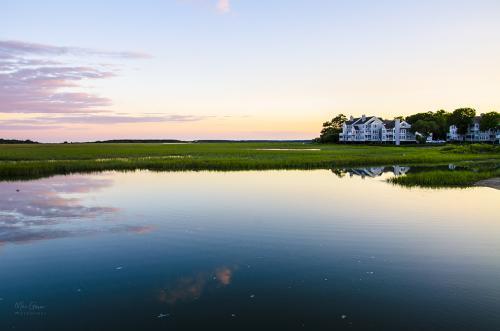 Beaufort South Carolina sunset 12x