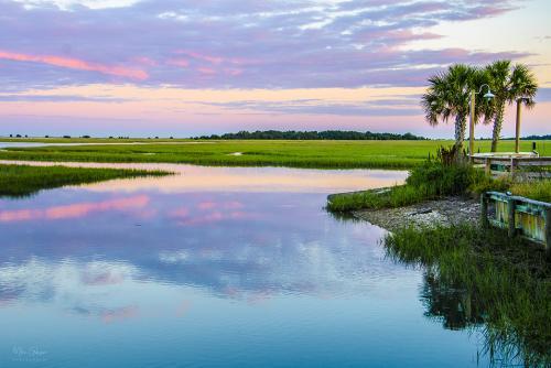 Beaufort South Carolina sunset 2 12x
