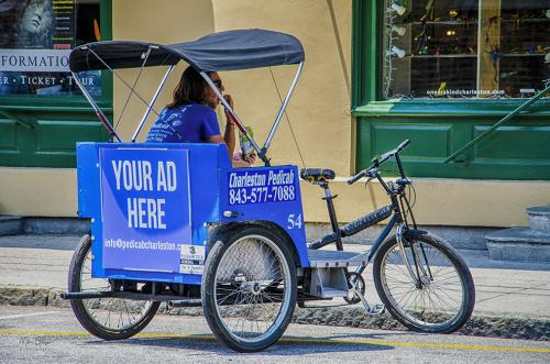 Charleston Pedicab lunch break 12x