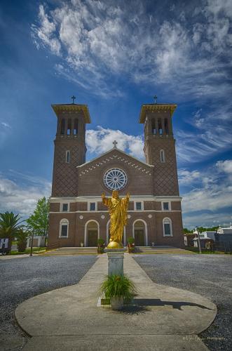 Church of St John the Baptist,Louiaiana 12x