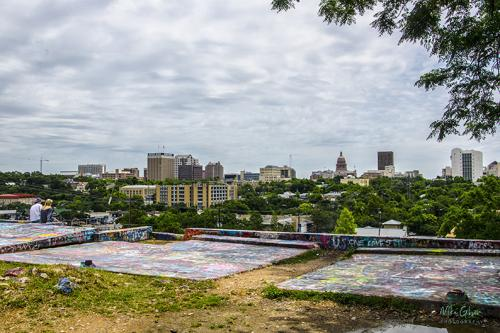 City of Austin from Castle Hill 12x