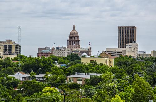 City of Austin from Castle Hill 2 12x
