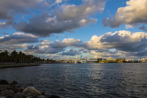 Clouds over Miami 12x18