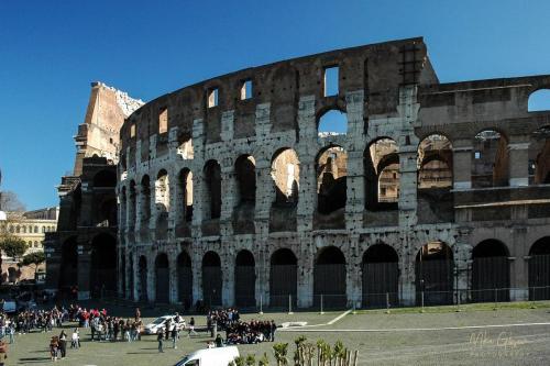 Colloseum Rome 12x18