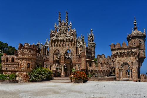 Colomares castle, Benalmadena 12x