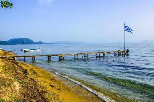 Corfu coast 12x