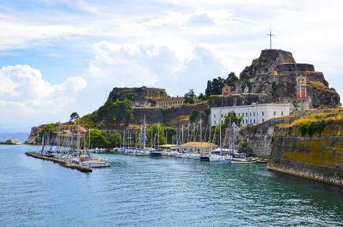 Corfu town 12x