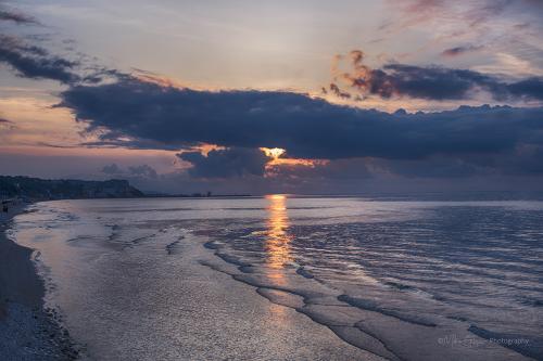 Firey Sunset 12x