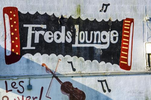 Fred's Lounge Mamou 12x18
