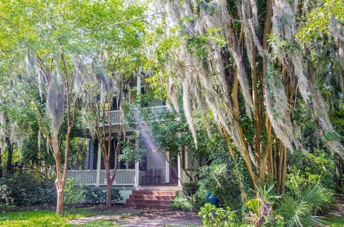 House with Spanish Moss Beaufort SC 12x