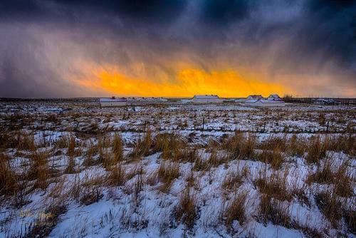 Iceland Stormy Sky mgp