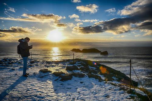Iceland coast sunset mgp 1