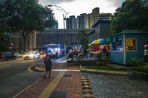 Kuala Lumpur street 12x