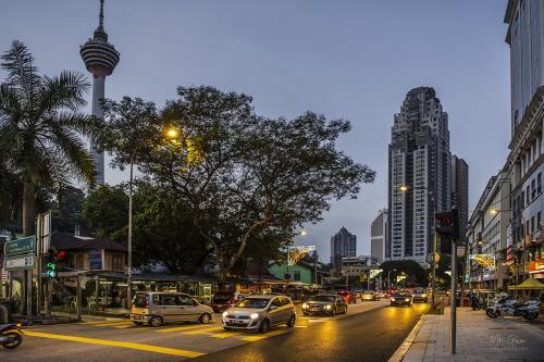 Kuala lumpur early morning 12x