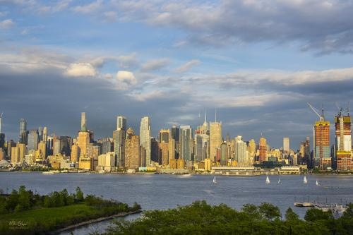 Manhattan from across the Hudson 12x