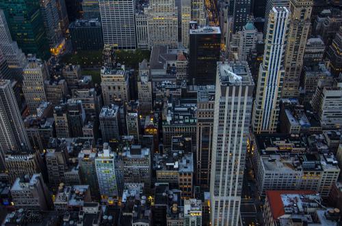 Manhattan view from ESB 12x