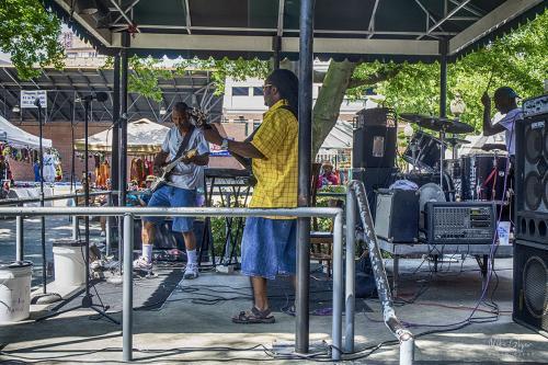Memphis street blues 12x