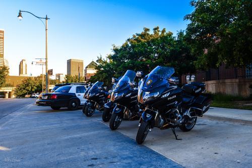Oklahoma Bricktown police bikes 12xmgp