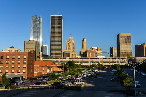 Oklahoma City early morning 12x