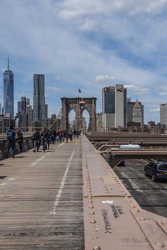 On Brooklyn Bridge 12x