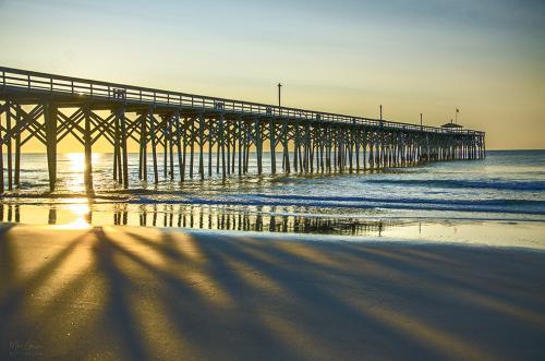 Pawleys Island South Carolina sunrise 12x