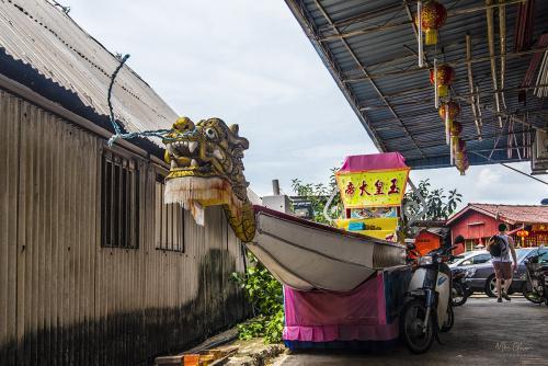 Penang street dragon 12x8