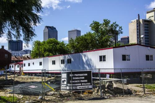 Rebuilding New Orleans - after Katrina 12x18