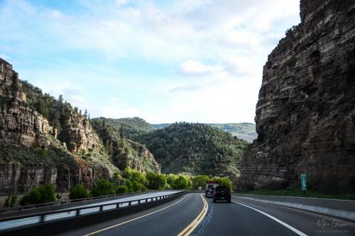 Road tgo Aspen through the Rockies
