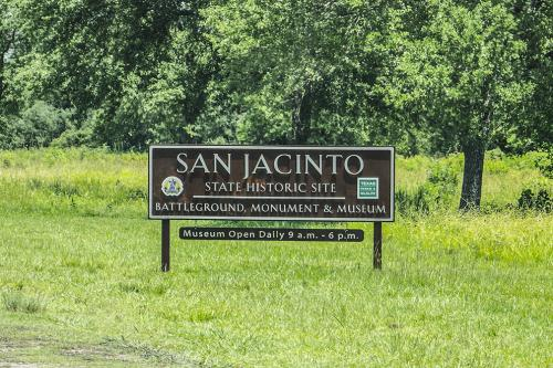 San Jacinto Monument sign 12x