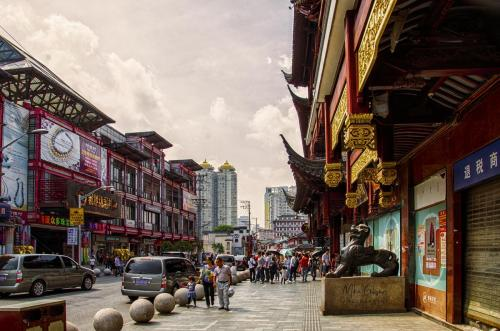 Shanghai street12x18