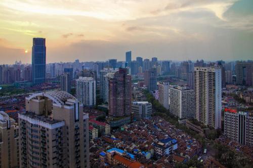 Shanghai sunsise 2 12x18
