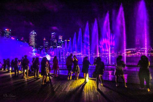 Singapore Harbor light show 12x8