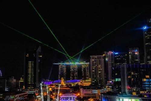 Singapore laser show 12x8