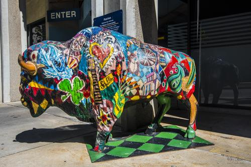 Street Art Oklahoma City 12x