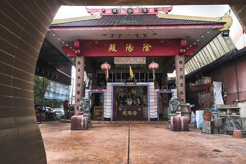 Temple in George Town Jetty area 12x