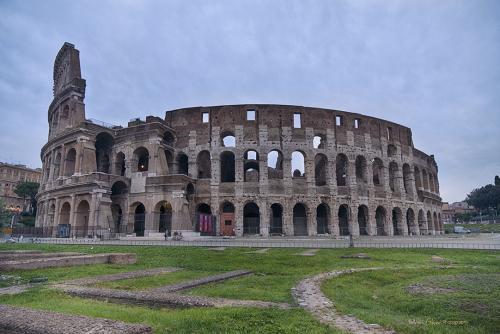 The Colloseum Rome 12x