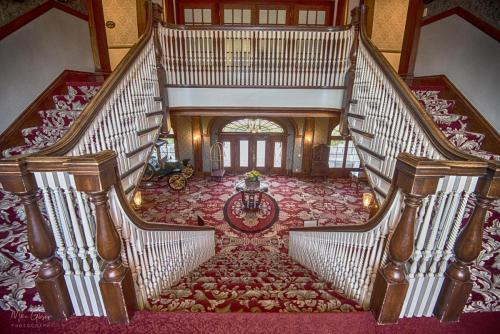 The Stanley Hotel, Estes Park central staircase 2