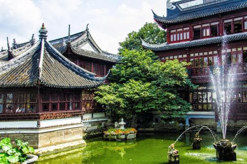 Yu Garden 2 Shanghai 12x18