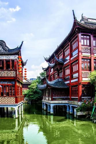 Yu Garden Shanghai 12x18