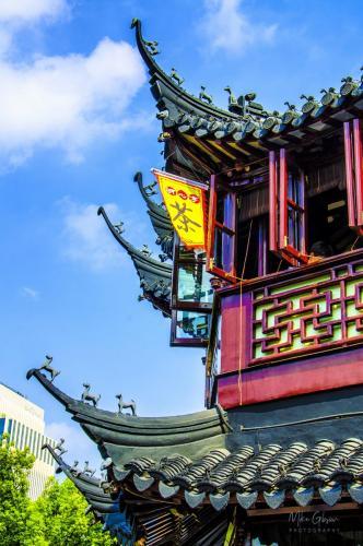 Yu Garden detail Shanghai 12x18