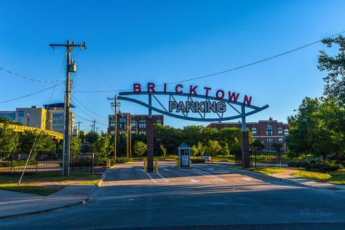bricktown Oklahoma City car park 12x