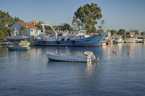 corfu boats