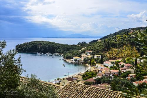 corfu view over Boukari