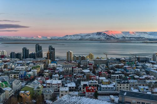 reykjavik from Church Tower mgp