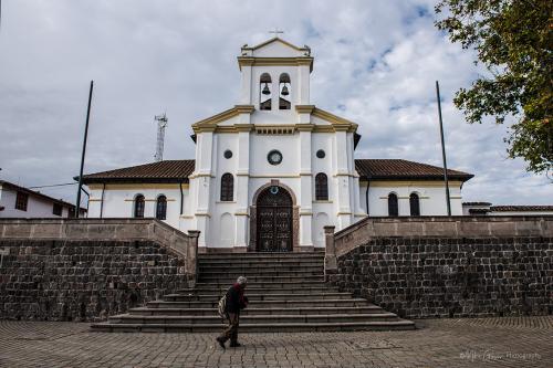 Church near Antisana Reserve